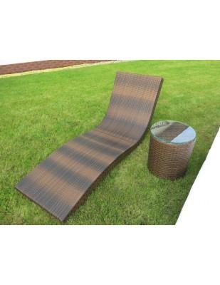 Leżaki Dublin (2 sztuki) ze stolikiem