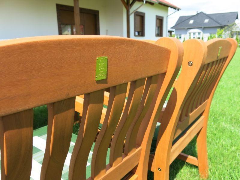 Zestaw ogrodowy (6 foteli Edinburgh + stół Dover)