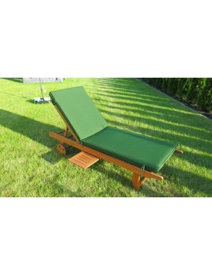 Leżak ogrodowy ze stolikiem Barbados