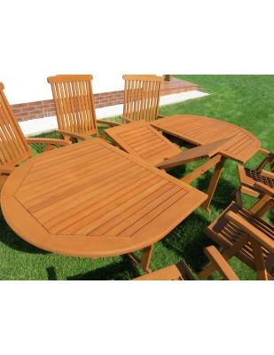 Zestaw ogrodowy (6 krzeseł Baltic + stół Toledo)