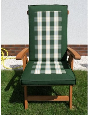 Poduszki na krzesła składane 5-pozycyjne