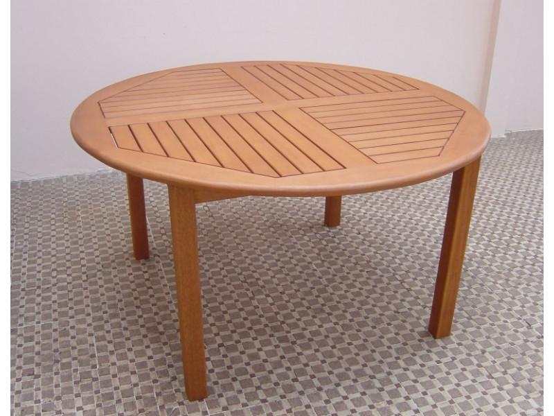 Stół drewniany ogrodowy Cocos (średnica 140cm)