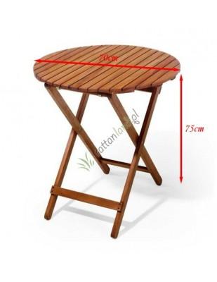 Stół drewniany okrągły Trafalgar