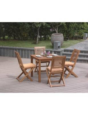 Krzesło ogrodowe składane Bosbury