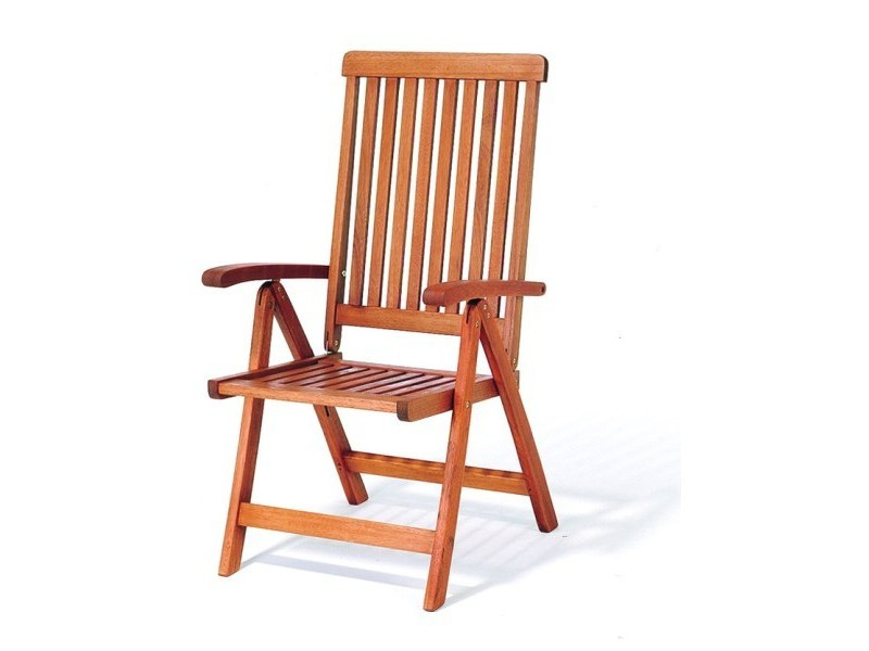 krzesło ogrodowe 5-pozycyjne Wellington wizualizacja
