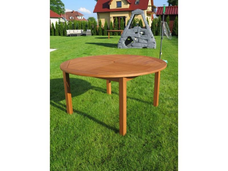 stół okrągły drewniany Cocos 140cm