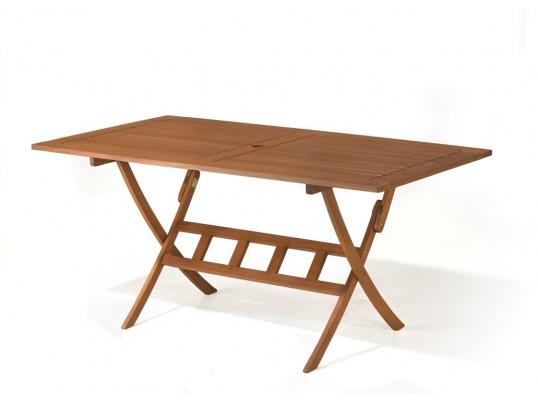 Stół drewniany ogrodowy Bradford 160 x 90 x 75H