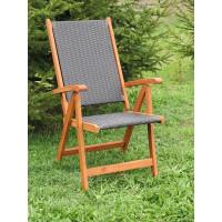 krzesło ogrodowe drewniane Nottingham (5-pozycyjne)