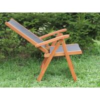 krzesło do ogrodu drewniane Nottingham (5-pozycyjne)