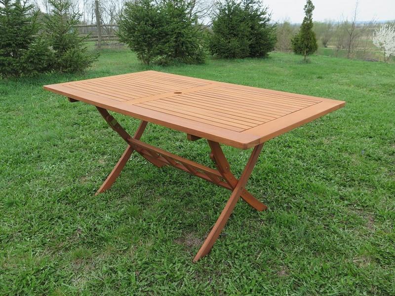 Stół drewniany Bradford 90x160x75