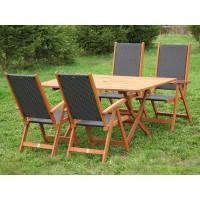 Zestaw ogrodowy (4 krzesła Nottingham + stół Bradford)