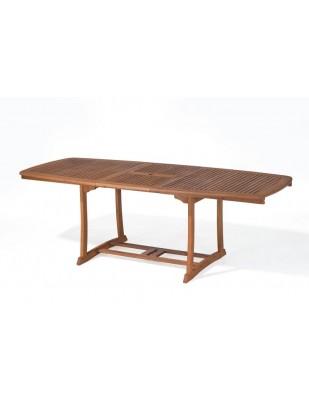 Stół drewniany ogrodowy Prowansja - (180 - 230) x 100 x 75H