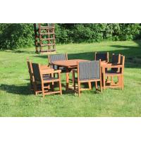 meble ogrodowe (stół Prowansja + 8 foteli Nottingham)
