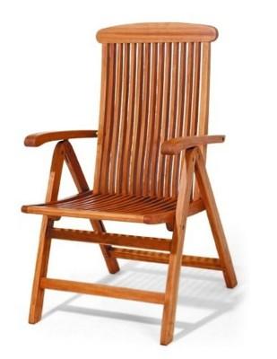 Krzesło ogrodowe składane Sydney (5-pozycyjne)