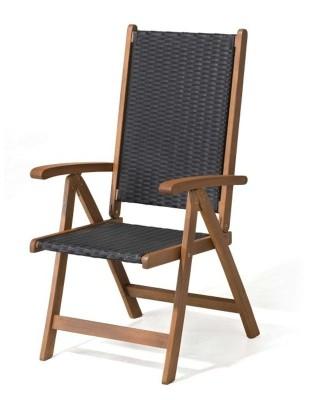 Krzesło ogrodowe składane Nottingham (5-pozycyjne)