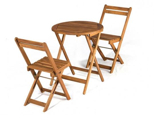 Zestaw ogrodowy Bistro (2 krzesła +stół)