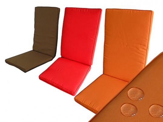 Poduszki na krzesła składane 5 pozycyjne (dostępne kilka kolorów)