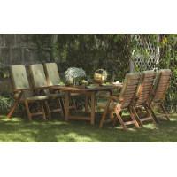 meble ogrodowe drewniane ze stołem Oldham