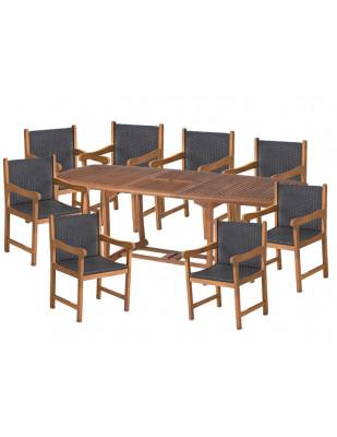 Stół Prowansja + 8 foteli Nottingham