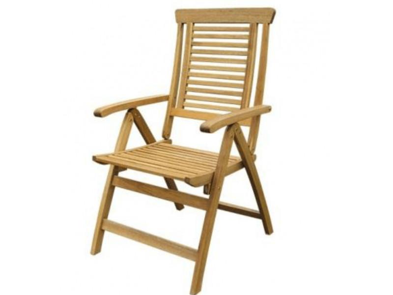 Krzesło ogrodowe składane Ascot (5-pozycyjne)