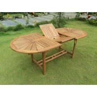 Zestaw mebli ogrodowych Bristol (153-195) x 90 z 8 krzesłami Bristol + komplet poduch w kolorze piaskowym