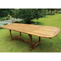 Stół drewniany ogrodowy Ascot rozkładany (165-225-285) x 90 x 72H