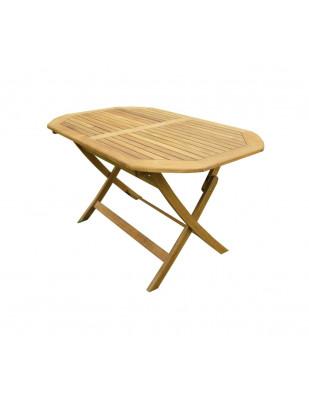 Stół drewniany ogrodowy składany Oxford 120 x 75 x 72H