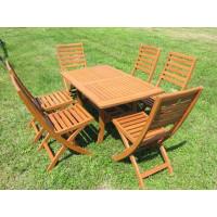 Meble ogrodowe (6 krzeseł Tenerife + stół Lancaster + 6 poduch)