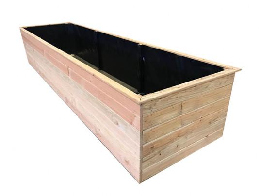 Donica ogrodowa 400 x 100 x 70cmH