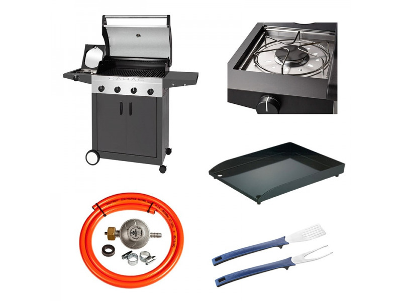 Grill ogrodowy CADAC ENTERTAINER - kolor Antracyt