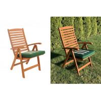 Poduszki na fotele ogrodowe PREMIUM - kolor szary