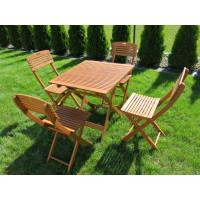 Zestaw ogrodowy Cayenne (4 krzesła + stół)
