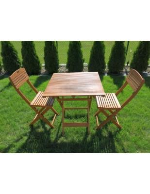Zestaw ogrodowy Cayenne (2 krzesła + stół)