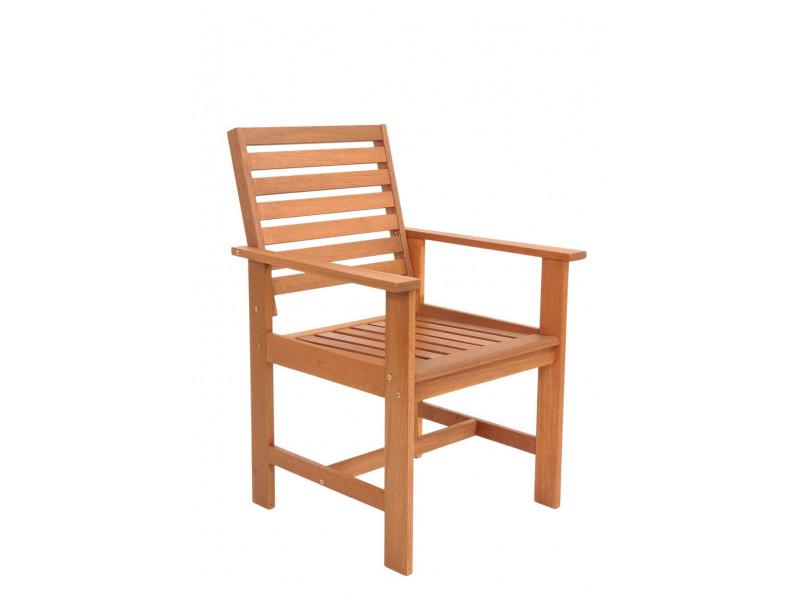 Fotel ogrodowy Casablanca z drewna meranti