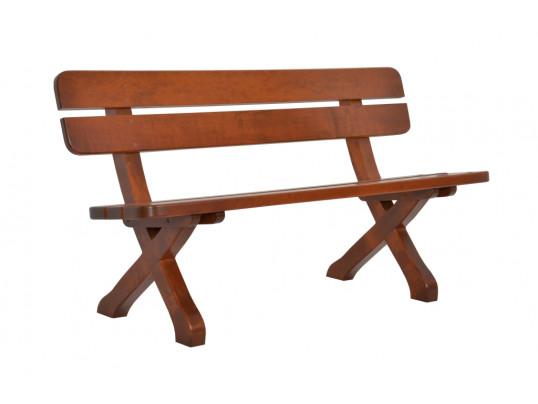 Zestaw ogrodowy Exclusive: stół 160 cm + 2 ławki 150 cm