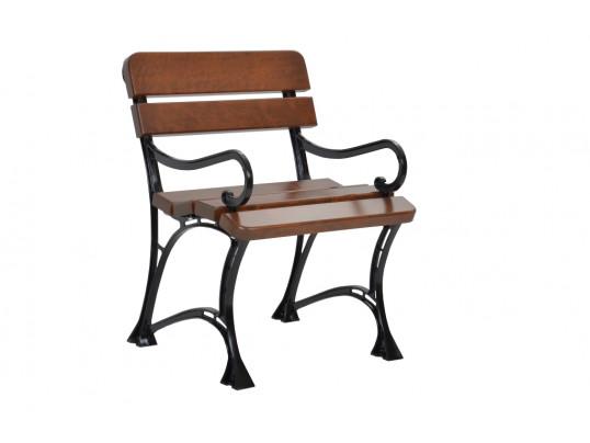 Krzesło ogrodowe Regiis z podłokietnikiem