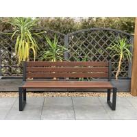 Ławka ogrodowa Commodus z oparciem bez podłokietników