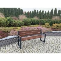 Ławka ogrodowa Commodus z oparciem