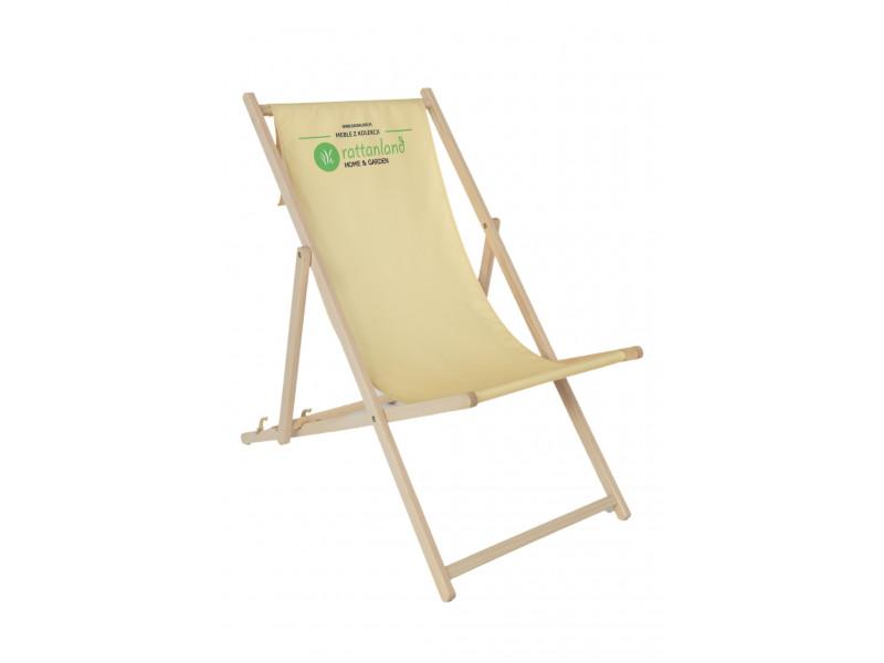 Leżak plażowy model L01 56 x 120 z Twoim Logo