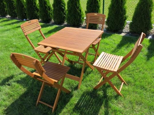Stół Drewniany Ogrodowy Cayenne 70 X 70 X 72h