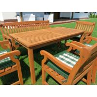 meble ogrodowe drewniane ze stołem Dover