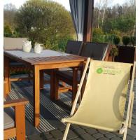 Stół drewniany ogrodowy Casablanca 140 X 80 X 73,5H