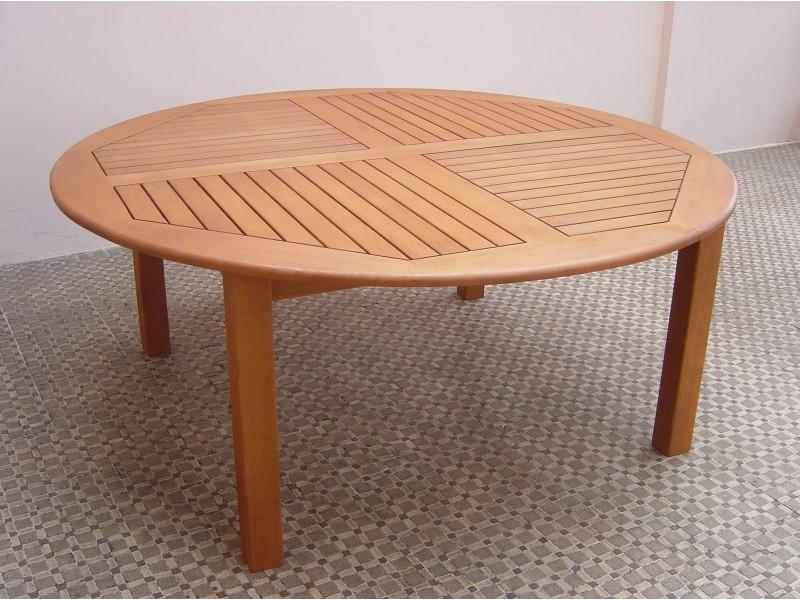 Stół drewniany ogrodowy Cocos - okrągły średnica 180 x 75H