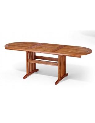 Stół drewniany ogrodowy Stockholm (160 -220) x 90 x 75H