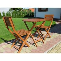 krzesła ogrodowe drewniane Trafalgar
