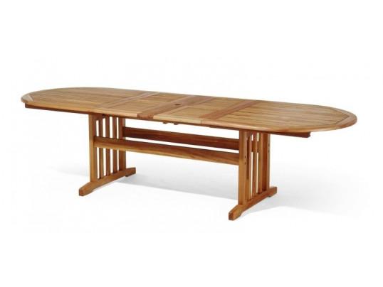 Stół drewniany ogrodowy Stockholm (210 - 250 - 290) x 100 x 75H