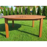 stół ogrodowy drewniany okrągły