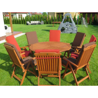 meble ogrodowe ze stołem Cocos 140cm
