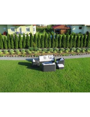Meble ogrodowe z technorattanu Salisbury