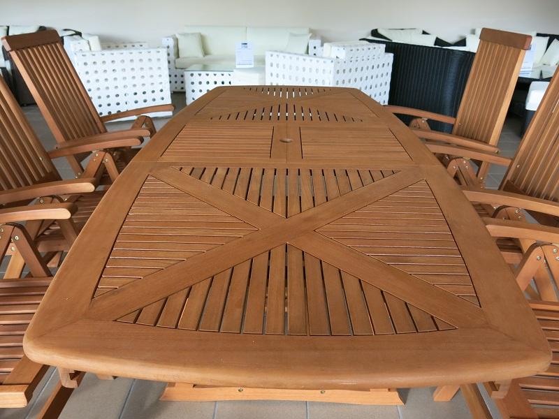 Meble Ogrodowe Drewniane Na Allegro : Birmingham zestaw ogrodowy + 6 krzeseł Wellington